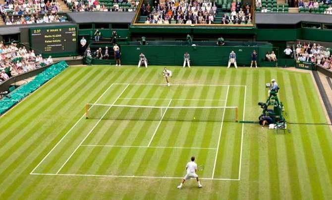 Wimbledon Free Tv