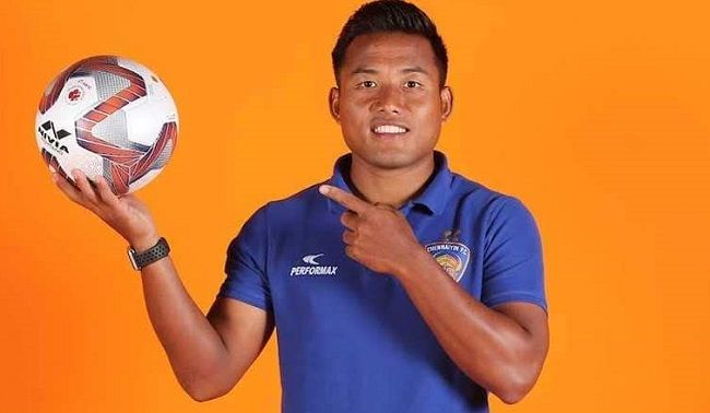 Jeje Lalpekhlua is young famous Indian footballer