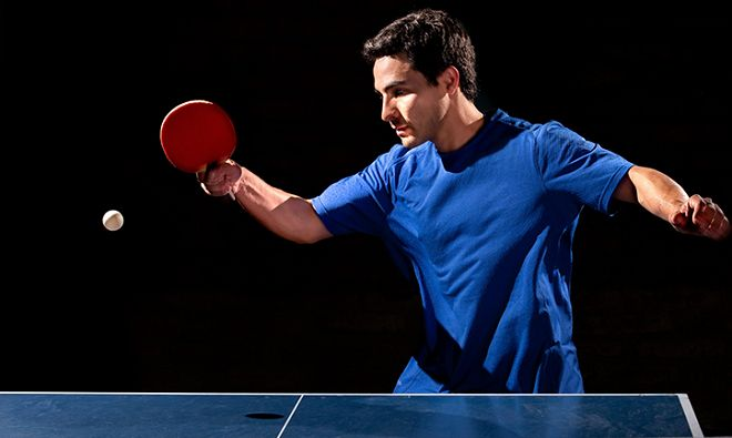 Table Tennis is the 7th most popular sport in the World