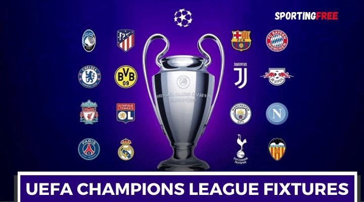 UEFA Champions League 2021/22 Schedule