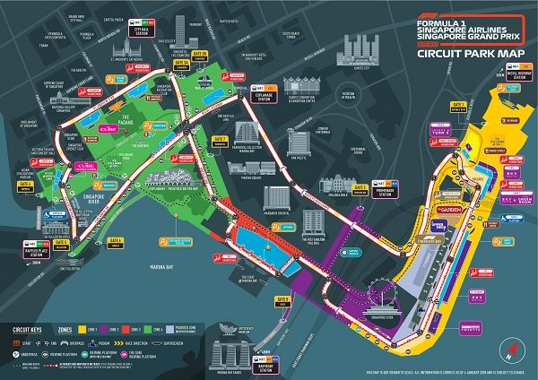 Formula 1 Map