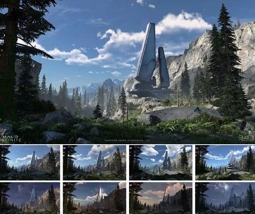 Halo Infinite Map