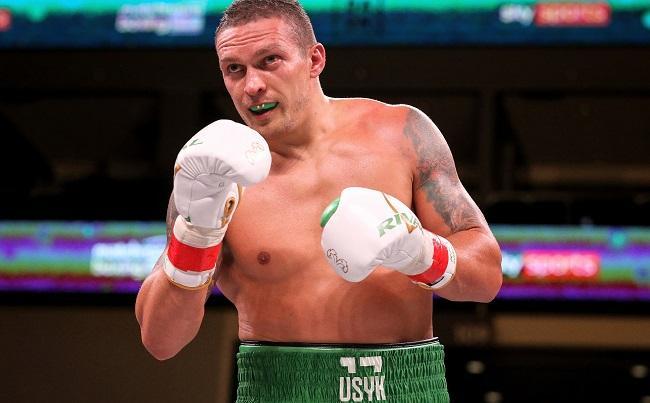 Oleksandr Usyk fight date