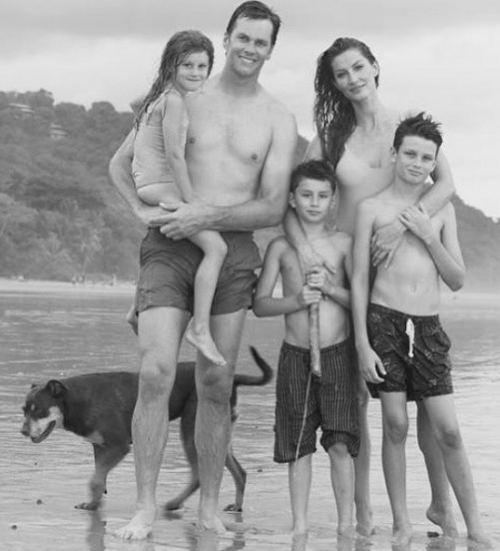 Tom Brady Children Jack, Benny & Vivian