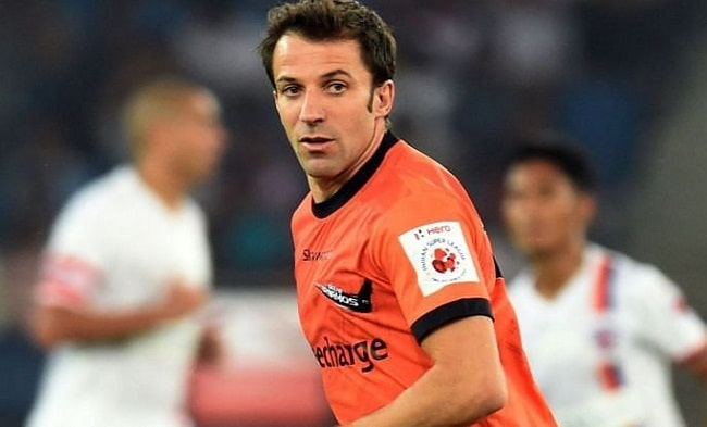 Alessandro del Piero is the most expensive transfers in ISL history.