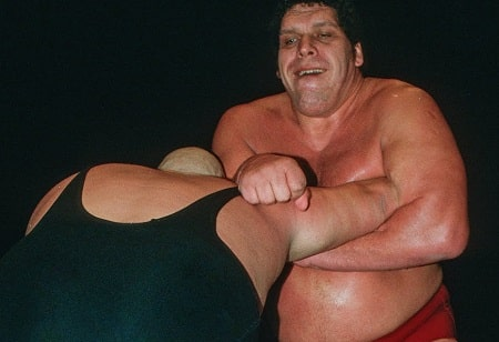 Andre The Giant is one of the tallest WWE superstars