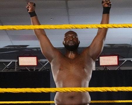 Jordan Omogbehin is the tallest active WWE superstar