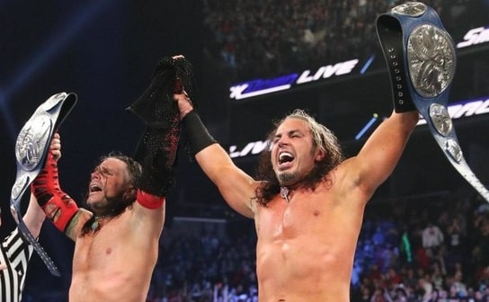 The Hardy Boyz is one of the greatest WWE Tag teams